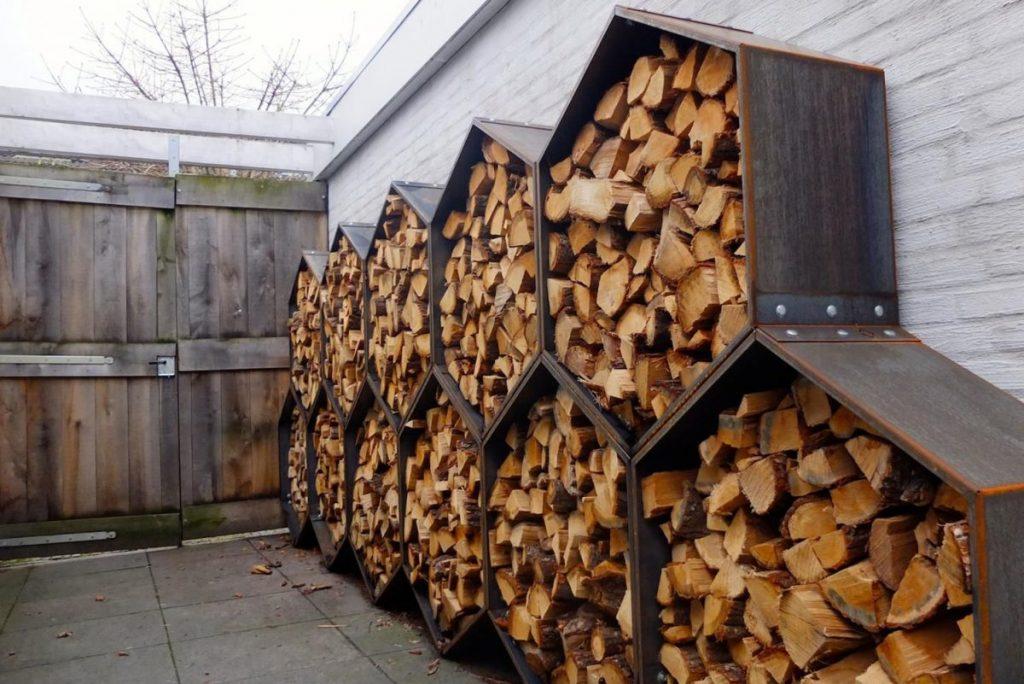 Simple DIY Outdoor Firewood Racks