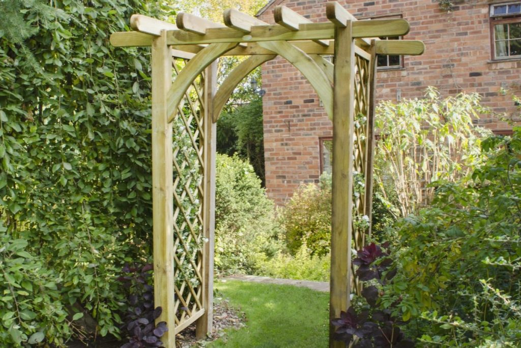 Steps on How to Make a Garden Arbor